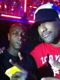 Dave Chappelle and Derrick Anthony at Hyde