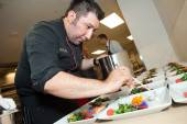 Lunch for the President's event was prepared by Executive Chef Gustavo Romero Veytia of Credo Restaurant