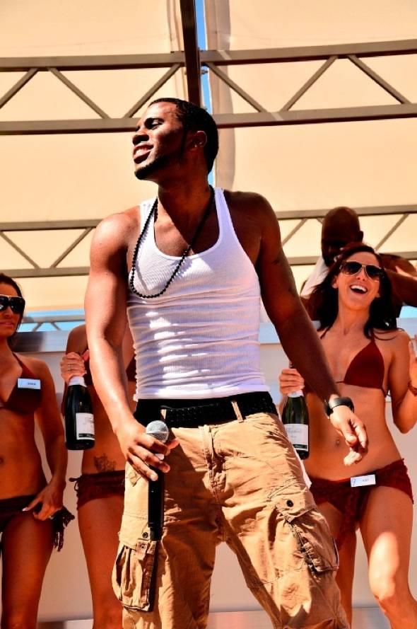 Jason Derulo enjoys Ditch Fridays pool party at Palms Casino Resort in Las Vegas 6.8.12