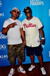 Jazzy Jeff and hype-man MC Skillz at Palms for Ditch Fridays.