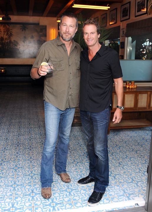 John Corbett and Rande Gerber