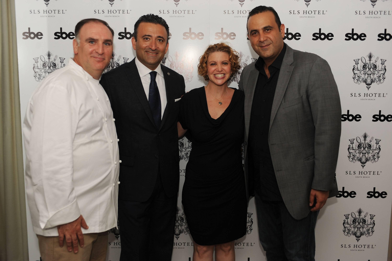 Jose Andres, Arash Azarbarzin, Michelle Bernstein & Sam Nazarian