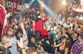 The LA Kings celebrate their Stanley Cup victory at Tao Nightclub.