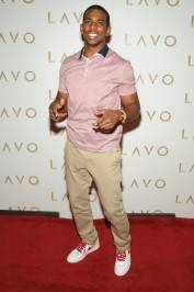 Chris Paul on the red carpet at Lavo.