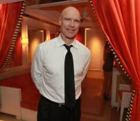 Mark Messier at Surrender Nightclub.