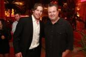 Mike Fisher and Eric Stonestreet at Surrender Nightclub.
