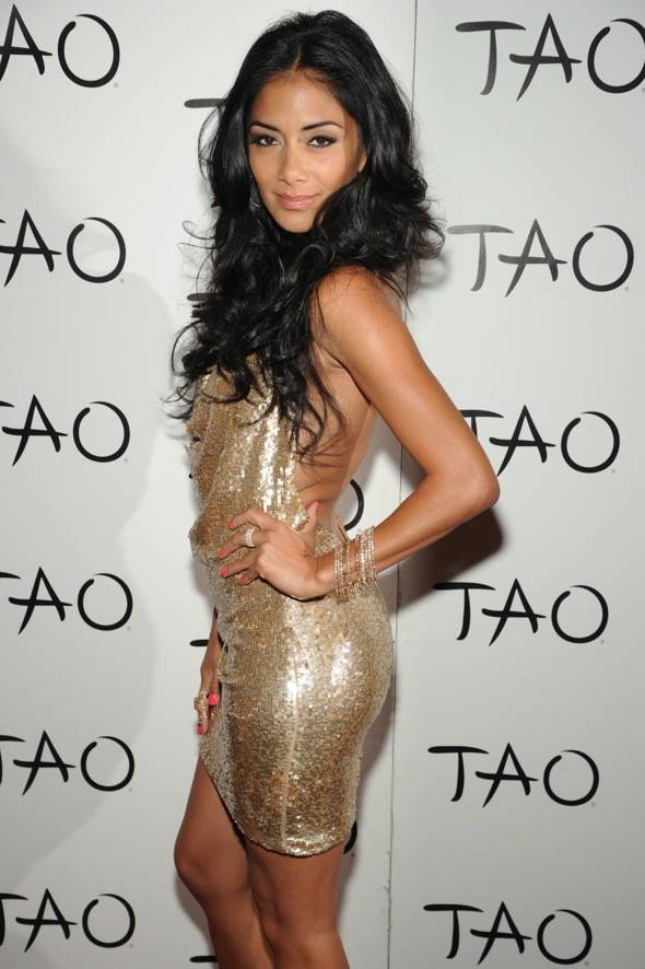 Nicole Scherzinger Red Carpet TAO
