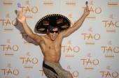 Ricardo Laguna on the red carpet at Tao Beach.