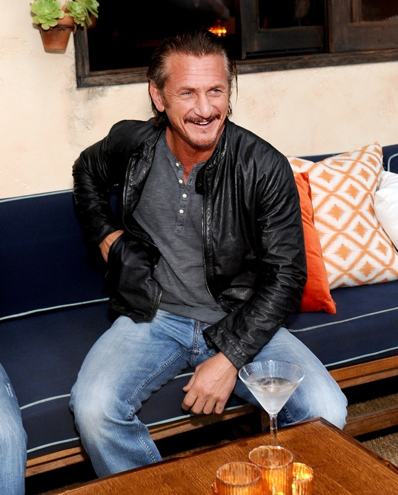 Sean Penn Sitting