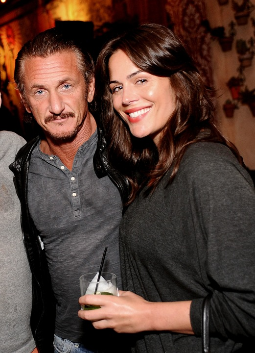 Sean Penn and Monica Gambee