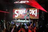 Steve Aoki spins at Surrender Nightclub.