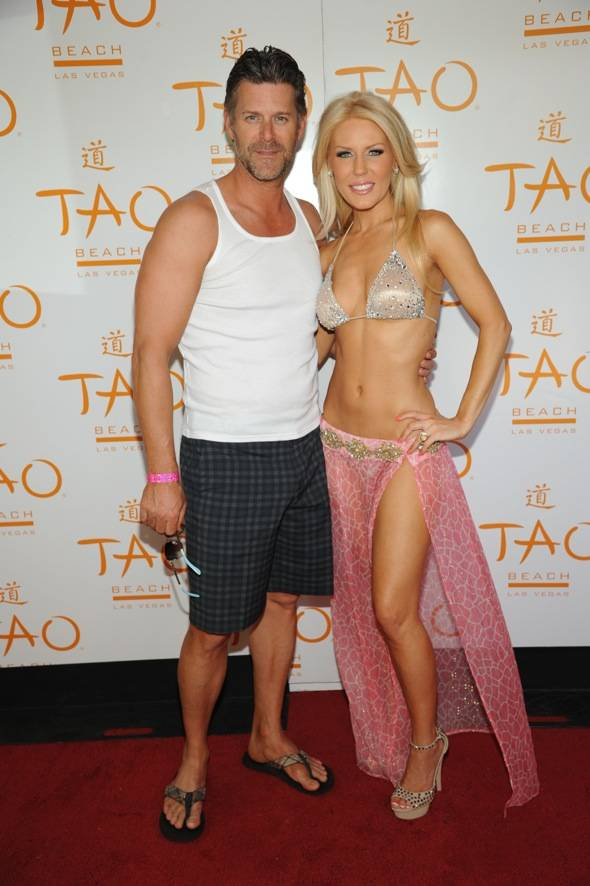 TAO Beach Gretchen Slade Red Carpet