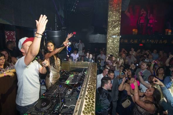 TAO Nicole Scherzinger DJ Booth