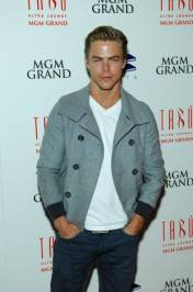 Derek Hough on the red carpet.