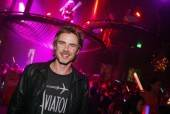 "Sam Trammell celebrates the ""True Blood"" season five premiere at the Gallery Nightclub."