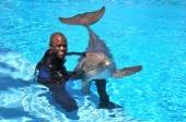 Wayne Brady with Maverick
