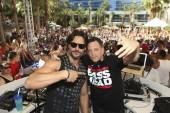 Joe Manganiello and Z-Trip