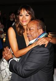Rashida & Quincy Jones
