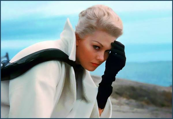 Photo: Kim Novak courtesy of Film Noire