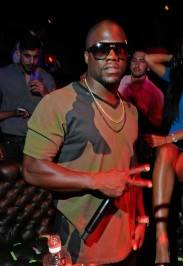 Actor/comedian Kevin Hart attends his birthday celebration at the Gallery Nightclub.