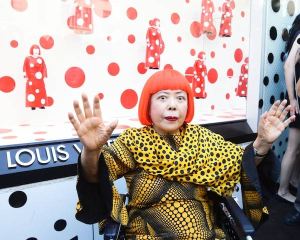 5th Ave NYC Kusama unveil 10