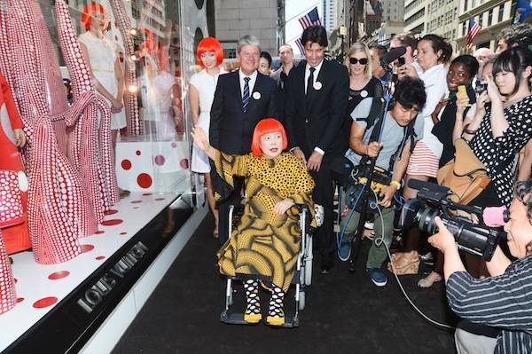 5th Ave NYC Kusama unveil 9