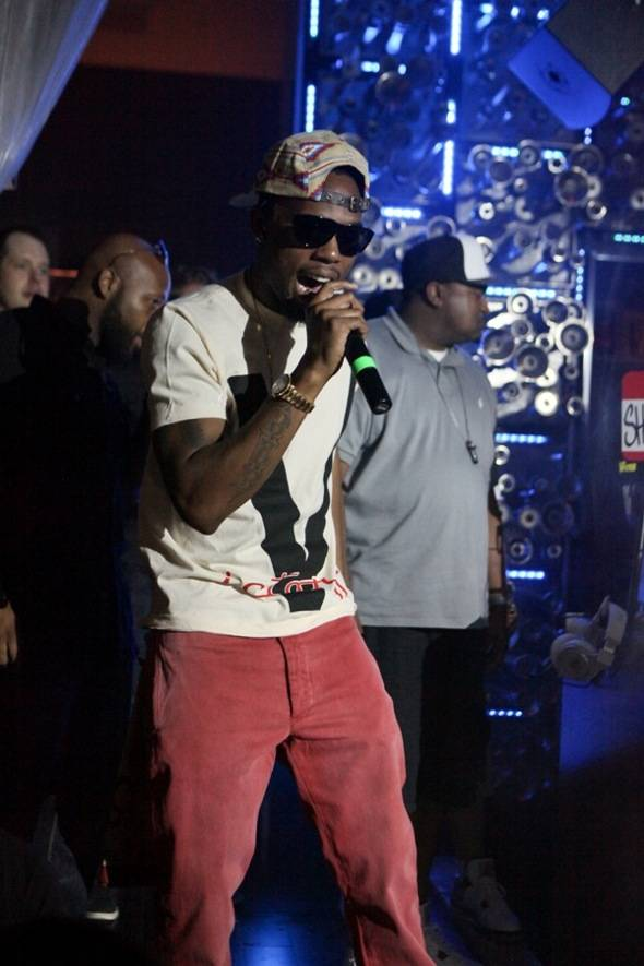 B.o.B performs at Hyde Bellagio, Las Vegas, 7.7.12 (2)