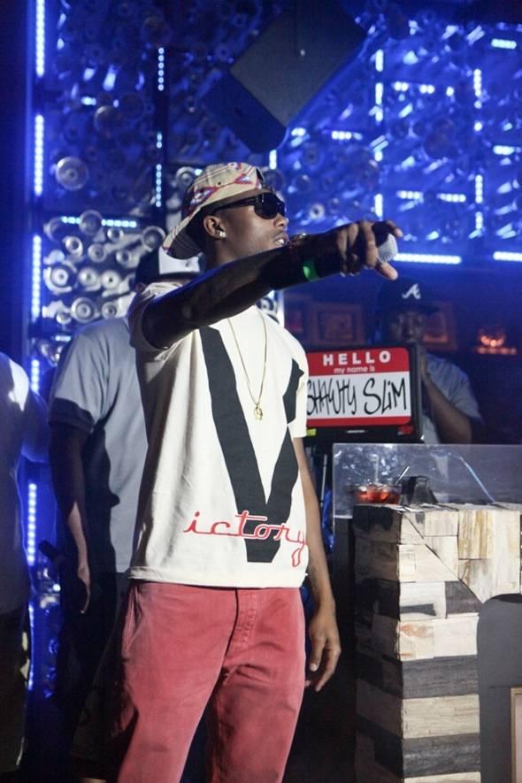 B.o.B performs at Hyde Bellagio, Las Vegas, 7.7.12 (3)