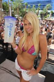 Chanel West Coast at Rehab.