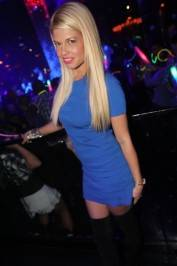 Chanel West Coast at Vanity Nightclub.