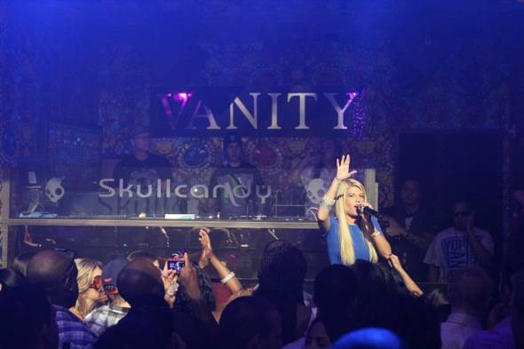 Chanel West Coast performace shot photo credit Hew Burney 7.1.12