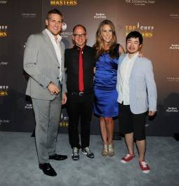 """Top Chef Masters"" Season 4 Judges Curtis Stone, James Oseland, Krista Simmons and Francis Lam."