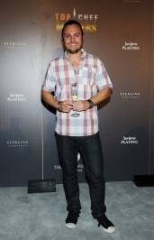 "David Myers arrives at the""Top Chef Masters"" Season 4 Premiere Party."