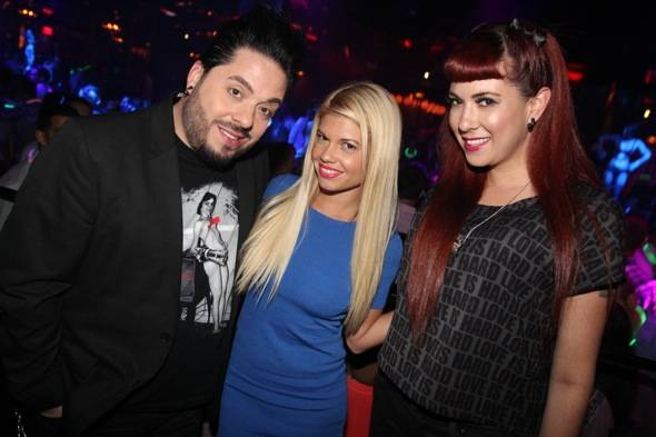 Destin Pfaff, Chanel West Coast, Rachel Federoff photo credit Hew Burey 7.1.12