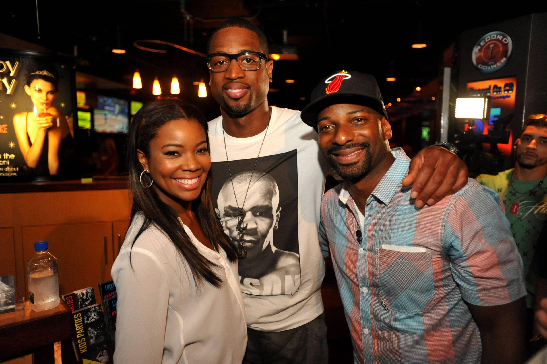Gabrielle Union, Dwyane Wade, & DJ Irie