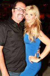 jim and Alexis Bellino at Surrender Nightclub.