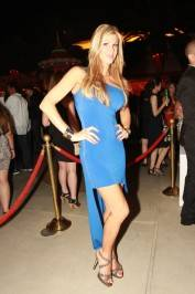 Alexis Bellino at Surrender Nightclub.