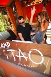 "Kelly Bensimon of ""The Real Housewives of New York City,"" celebrates the release of her new book ""I Can Make You Hot!"" at Tao Beach."