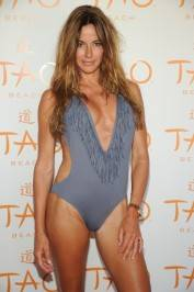 Kelly Bensimon on the red carpet at Tao Beach.