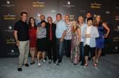 """Top Chef Masters"" Season 4 Chef'testants Keith Heffernan, Sue Tores, Patricia Yeo, Clark Fraiser, James Osland, Art Smith, Debbie Gold, Mark Gaier, Curtis Stone Francis Lam, Krista Simmons and Cosmopolitan CEO John Unwin."
