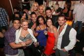 Lacey Schwimmer celebrates her 24th birthday at Hyde Bellagio with friends.