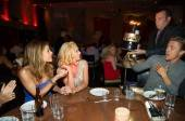 Maria Menounos, Katherine Jenkins and Derek Hough at Tao.