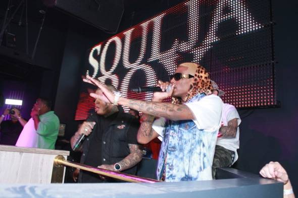 Soulja Boy performing at Chateau Nightclub (2)