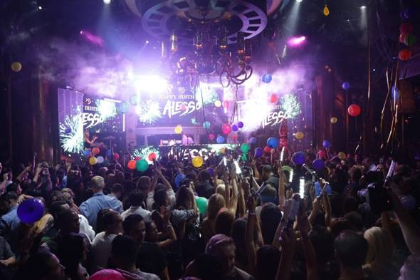 XS - Alesso - balloon drop - 7.9.12