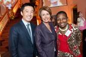 Hong Chang, Congresswoman Nancy Pelosi and Linda Crayton
