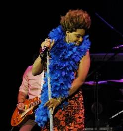 Macy Gray at the Pearl at the Palms. Macy Gray photos: Denise Truscello/WireImage