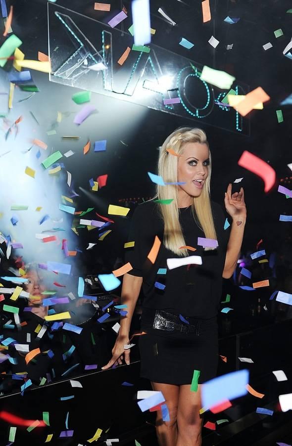 Jenny McCarthy At 1 OAK Nightclub At The Mirage In Las Vegas