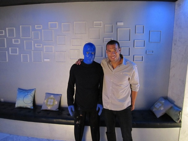 8.24.12 Michael Yo at Blue Man Group Las Vegas in The Venetian (2)