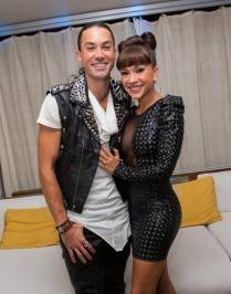 Ace Young and Diana DeGarmo at AFAN's 26th annual Black & White Party.