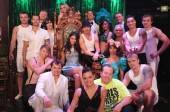 janina Gavankar with the cast of Absinthe.